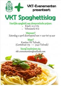 Affiche spaghettislag