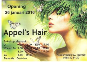 Appel's hair